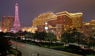 parisian macau hotel in macau,  china, города, макао , китай, панорама
