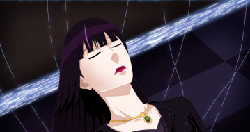 аниме, death parade, девушка