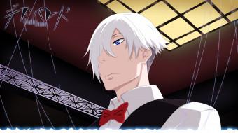 аниме, death parade, парень