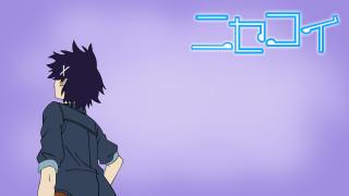 аниме, nisekoi, фон, девушка, взгляд