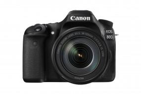 Canon, EOS 80D, фотоаппарат
