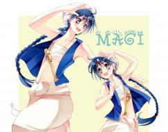 аниме, magi the labyrinth of magic, маги
