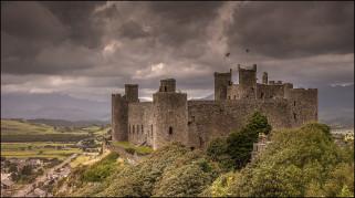 города, - дворцы,  замки,  крепости, простор