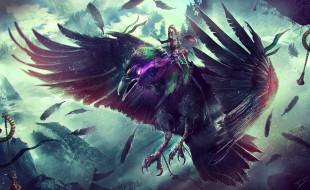видео игры, world of warcraft, rogue, art, raven, wow, warcraft, blizzard, world, of