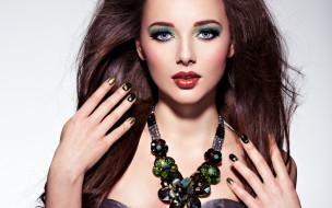 девушки, -unsort , лица,  портреты, model, look, brunette
