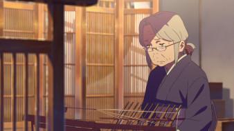 аниме, kimi no na wa, фон, девушка, взгляд
