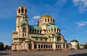 софия, города, - православные церкви,  монастыри, собор, болгария
