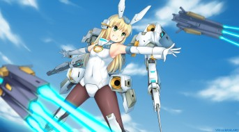 аниме, frame arms girl, frame, arms, girl