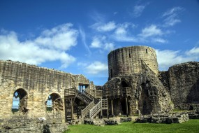 Barnard Castle Ruins in England