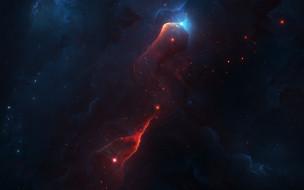 космос, галактики, туманности, звёзды, земля, вселенная, фотошоп, туманность, планеты, луна
