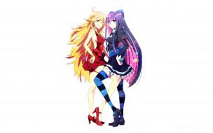 аниме, panty & stocking with garterbelt, девушка