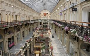 интерьер, казино,  торгово-развлекательные центры, торговля, гум, москва
