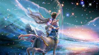 разное, знаки зодиака, стрелец, искусство, знак, арт, зодиак