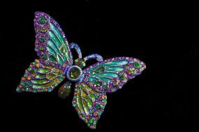 разное, украшения,  аксессуары,  веера, брошь, бабочка