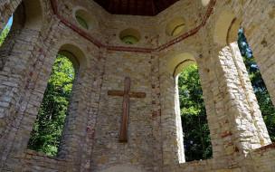 разное, религия, деревянный, крест