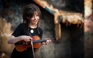 lindsey stirling, музыка, девушка, скрипка, музыкант