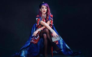 lily allen, музыка, украшение, девушка, певица