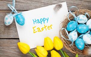 праздничные, пасха, flowers, eggs, happy, easter, тюльпаны, spring, tulips