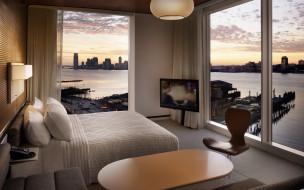 жилая комната, дизайн, стиль, интерьер, мегаполис
