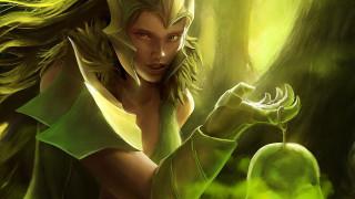 арт, магия, ведьма, девушка