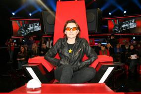 женщина, люди, кресло, очки, певица