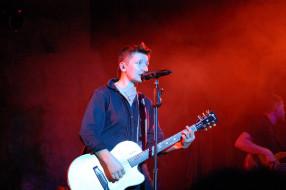 концерт, певица, женщина, гитара, микрофон