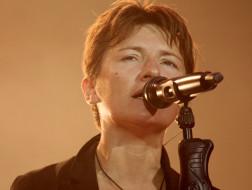 певица, микрофон, женщина