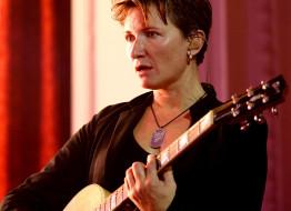гитара, женщина, певица