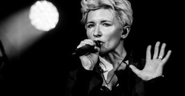 микрофон, женщина, певица