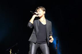 женщина, микрофон, певица, концерт