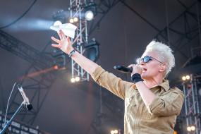 самолет, микрофон, женщина, певица, очки