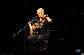 концерт, гитара, женщина, певица, микрофон
