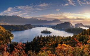 Словения, Остров Блед, Озеро Блед, Bled Lake, Bled