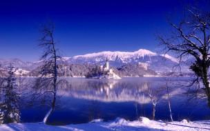 Озеро Блед, Остров Блед, Словения, Bled Lake, Bled