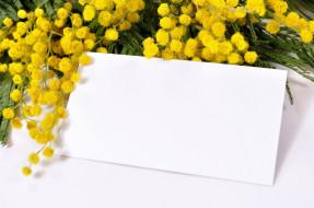 праздничные, международный женский день - 8 марта, мимоза, бумага