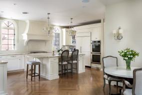 интерьер, кухня, стулья, мебель, люстра, дизайн, бра, стол