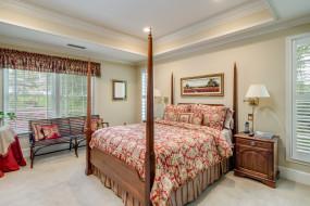 комод, кровать, спальня, диван