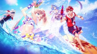аниме, fantasy frontier, fantasy, frontier