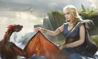 игра престолов, арт, дракон
