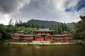 buddhist temple hawaii, города, - буддийские и другие храмы, храм