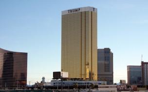 города, лас-вегас , сша, лас, вегас, здание, отеля, трамп