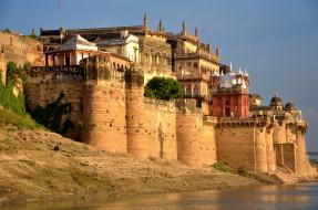 ramnagar fort,  varanasi, города, - дворцы,  замки,  крепости, простор