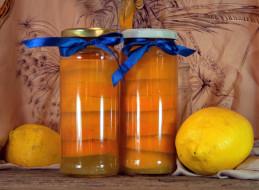 банки, лимоны, банты