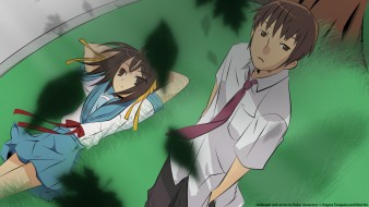 аниме, the melancholy of haruhi suzumiya, suzumiya, haruhi, no, yuutsu