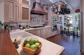 интерьер, кухня, стиль, мебель