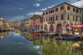 chioggia, города, венеция , италия, простор