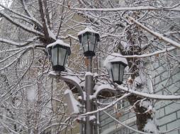 фонарь, города, - другое, город