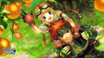 аниме, the legend of heroes,  trails in the sky, the, legend, of, heroes
