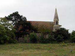 rye harbor church, rye sussex, uk, города, - католические соборы,  костелы,  аббатства, rye, harbor, church, sussex