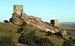 zafra castle,  spain, castillo de zafra, города, замки испании, zafra, castle, spain, castillo, de